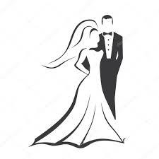 Wedding Couple Stock Vector Deskcube 9571022