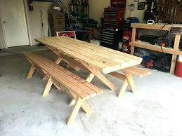 build a picnic table how to build a picnic table with separate benches picnic table detached build a picnic table