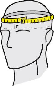 Shoei Helmet Fitting Chart