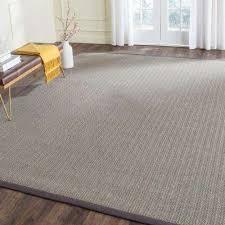 natural fiber grey brown grey 10 ft x 14 ft area rug