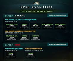 dota 2 the international 2017 open qualifiers champions cup