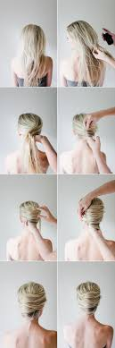 French Twist Hair Style messy french twist tutorial once wed 2896 by stevesalt.us