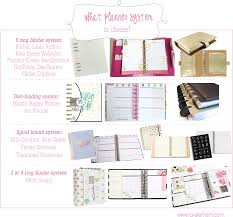 How To Pick A Planner System Choosing A Planner Style