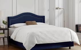 Grey Master White Bedroom Platform Furniture King Upholstered Black ...