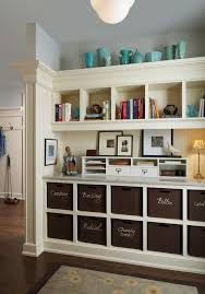 home office storage. Vintage Office Storage Home Traditional With Family Paper Built-in Cubbies