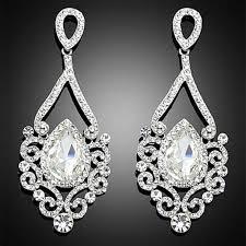 chandelier earrings bridal chandelier earrings wedding earrings long pageant earrings