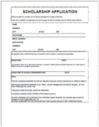 Scholarship Aplication Form Scholarship Application Form Major Magdalene Project Org