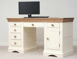 french country corner computer desk white oak furniture land