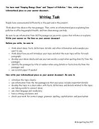 grade informational writing texts and prompts for milestone 3rd grade informational writing texts and prompts for milestone