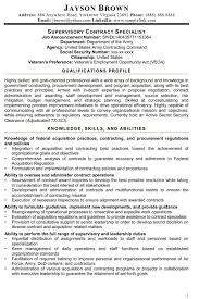 Federal Resume Writing 6 Samples Nardellidesign Com