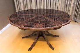 walnut curl expanding circular dining table johnson furniture round expanding table expanding round table uk