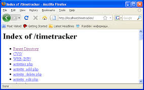 Installing Time Tracker on Windows XP with Apache