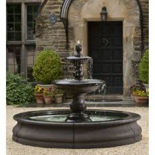 caterina extra large driveway outdoor water fountain