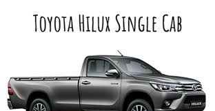 new toyota hilux single cab asco motors