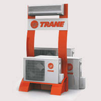 trane ductless mini split. duct free systems trane ductless mini split
