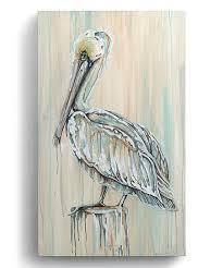 pelican canvas wall art on pelican canvas wall art with beyond the shore pelican canvas wall art zulily