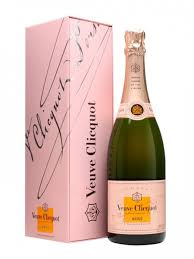 veuve clic rose gift box nv