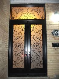 fiberglass doors serefina design doors with stained glass and transom installation by front entry doors