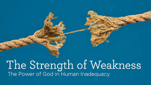 the strength of weakness  archive  truth for life series image