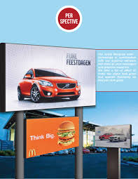 Double Sided Front Access Full Color Led Digital Sign Size Height 3 Feet