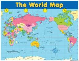 The World Map Chart