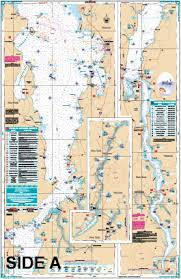 Long Lake Ny Depth Chart Lake Champlain South Lake Fishing Chart 11f