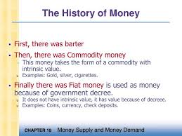 Ppt The History Of Money Powerpoint Presentation Id 4499572