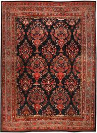 antique persian serapi rug bidjar
