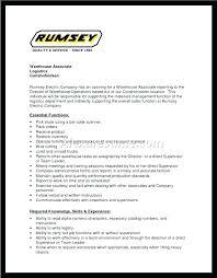 Material Management Resume Sample Warehouse Associate Resume Sample Related Post Warehouse Associate