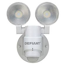 Outdoor Led Motion Lights Fascinating Amazon LED Motion Sensor Security Light By Defiant 32 Degree