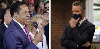 Newsom criticizes recall candidate ...