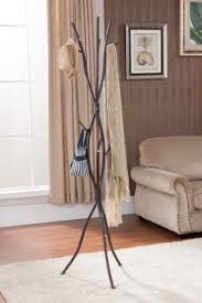 get quotations kings brand bronze finish metal tree branches coat hat rack stand alba chromy coat tree knobs