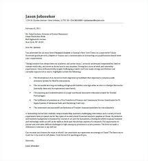 Cover Letters Finance Banking Finance Sample Cover Letter For