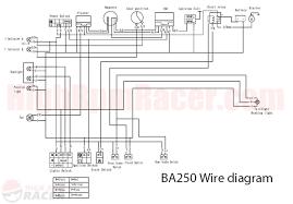 chinese 4 wheeler wiring diagram in loncin 110 wiring diagram Chinese 110 Atv Wiring Diagram chinese 4 wheeler wiring diagram with baja250 wd jpg chinese 110cc atv wiring diagram