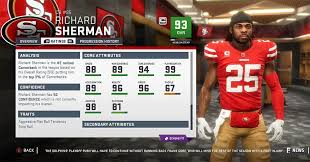 Madden 19 San Francisco 49ers Player Ratings Roster Depth