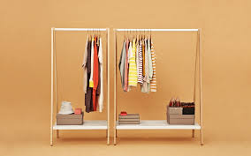 ... Toj Rolling Hanging Clothes Rack Ideas: Charming Hanging Clothes Rack  For Bedroom ...