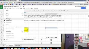 GPA Calculator - YouTube