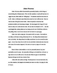 aileen wuornos suffers from borderline personality disorder which  page 1 zoom in
