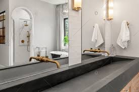 bathroom sinks stock photos offset
