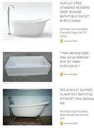 acrylic bathtub vs cast iron acrylic tubs whirlpool tub with jets freestanding bathtub acrylic vs cast acrylic bathtub