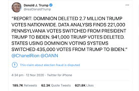 The Long Fuse: Misinformation and the 2020 Election