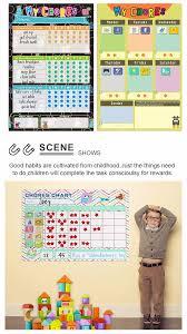Educational Training Equipment Magnetic Child Behavior Chart Toys Magnetic Calendar Reward Chart For Kids Buy Childrens Educational Wall