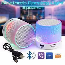 5 Colors <b>LED Portable Mini Wireless</b> Glowing Bluetooth Speakers ...