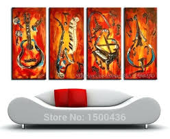 3 piece wall art sets hand painted purple flower rose oil painting canvas large 5 3 piece wall art sets