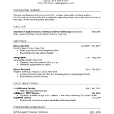 Sample Technician Resume Cover Letter Associate Test Engineer