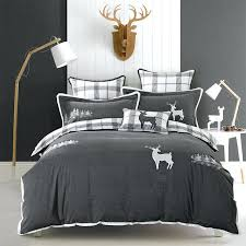 jacquard damask duvet set kingsize washed cotton elk embroidery luxury bedding sets queen king size regarding jacquard damask duvet