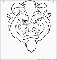 Beauty And The Beast Coloring Pages Disney Great Beauty Beast