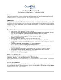 Quality Control Inspector Resume Quality Control Inspector Resume Examples Qa Qc Sample Electrical 21