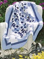 Free Classic Quilting Patterns for Special Occasions - Page 1 & Blue Floral Lap Quilt Adamdwight.com