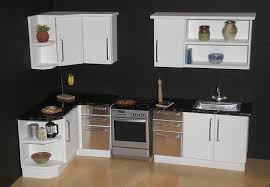 dollhouse kitchen furniture.  Furniture White Modern 112th Scale Dollhouse Kitchen  From My Morninu2026 Flickr More With Dollhouse Kitchen Furniture H
